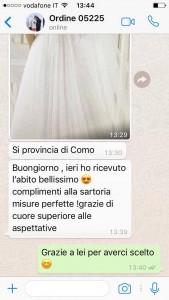 numero whatsapp sposatelier