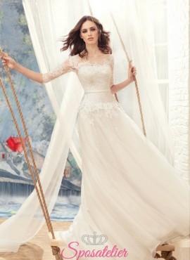 abiti da sposa matrimonio in tema vintage realizzabile su misura