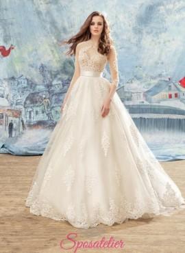 abiti da sposa collezione 2018 2019 su misura sartoria online
