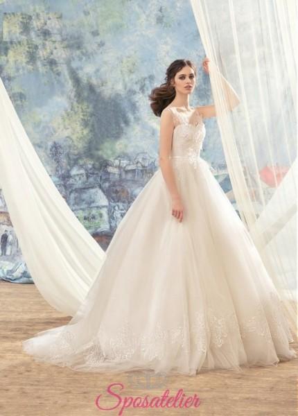 abiti da sposa per matriomnio chic e romantico su misura