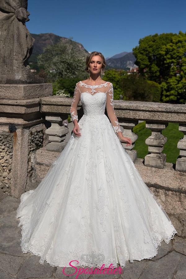 abiti da sposa di tendenza per 2018 romantici e sensualiSposatelier 404b4b9187e