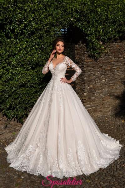 abiti da sposa autunno inverno 2018 in vendita online su misura