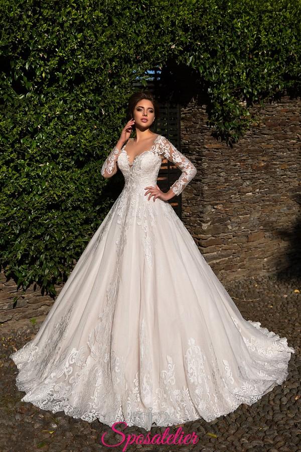 Amato abiti da sposa autunno inverno 2018 in vendita online su  TL84
