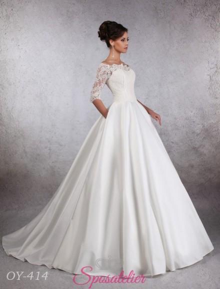abito da sposa per matrimonio in autunno
