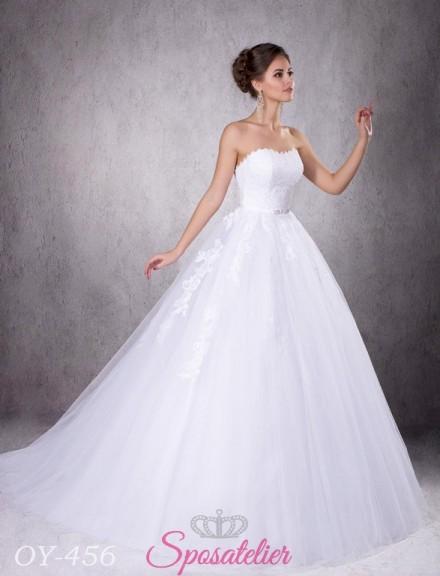 abito da sposa principesco in vendita online su misura economici