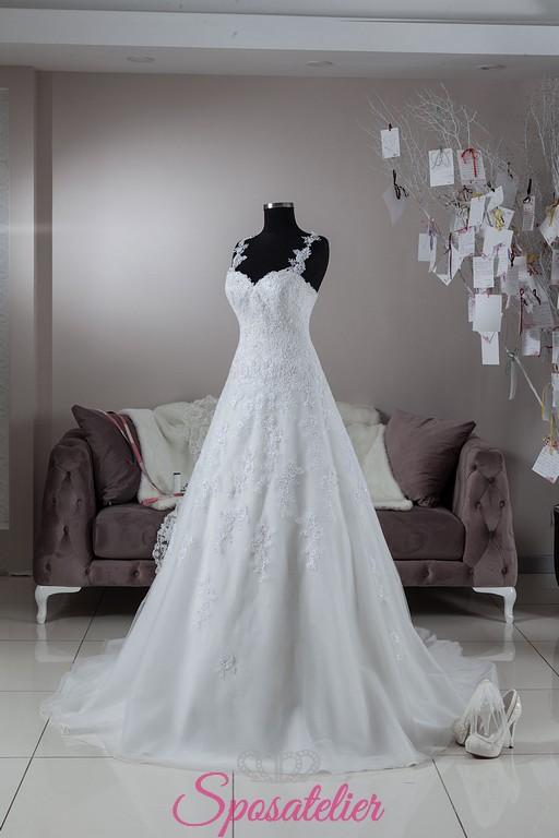 cb3870ee4419 Napoli-offerta abiti da sposa economici in vendita onlineSposatelier