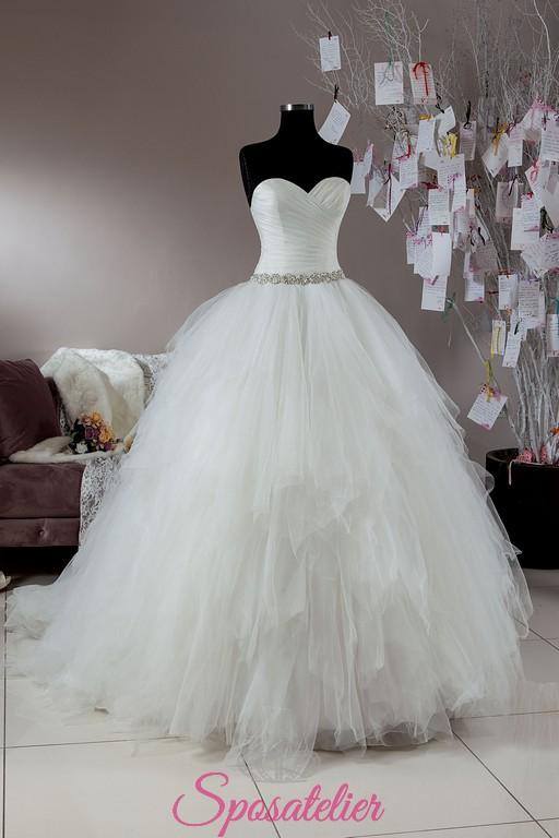 5fd4ec686fb8 Palermo-offerta abiti da sposa economici in vendita onlineSposatelier