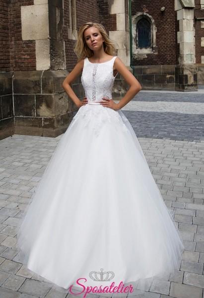 offerta abiti da sposa economici italiani particolari in vendita
