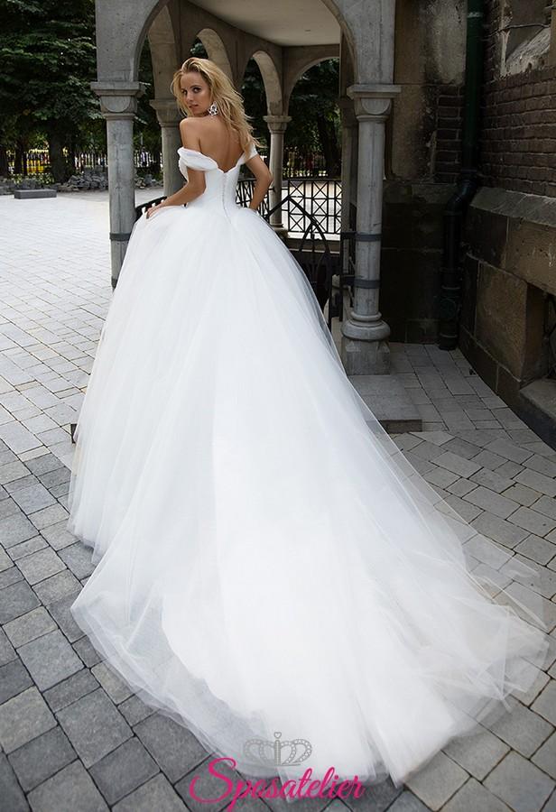 abito da sposa pomposo con scollo a cuore collezione ...