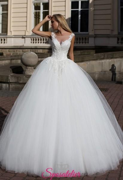 offerta abiti da sposa modello principesco economici in vendita online