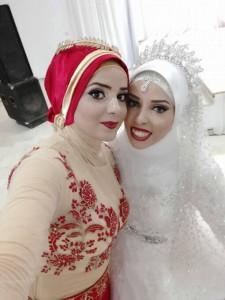foto reale sposa stile hijab