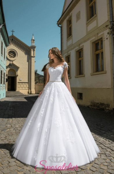 Abito da sposa sposatelier tendenze collezione 2018