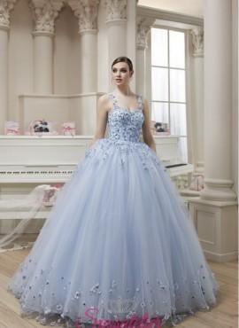 abiti da sposa cenerentola tendenze 2018 colorato