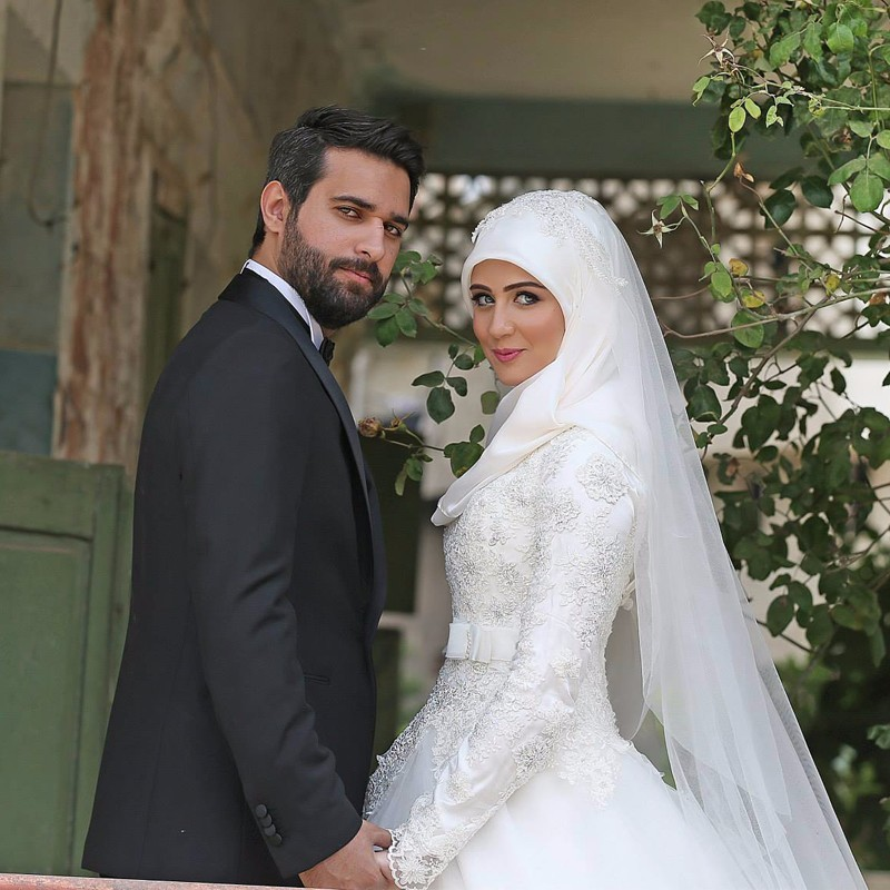 Matrimonio In Rumeno : Abiti da sposa stile hijab shop online wedding dress