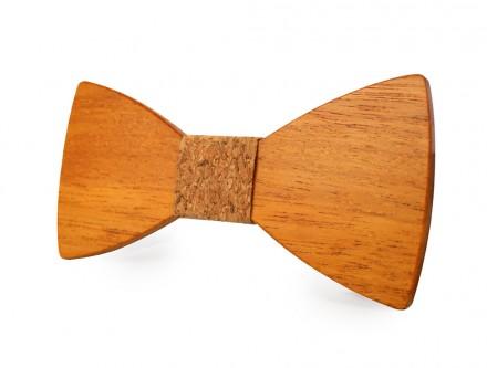papillon di legno in sughero