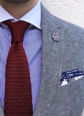 cravatta tricot invernale