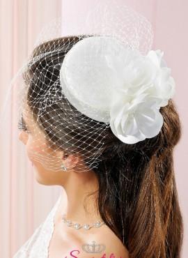 cappelli sposa online 2018 in raso con retina di tulle sito italiano
