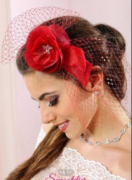 veletta per capelli sposa colorata avorio bianca nera o vinaccia