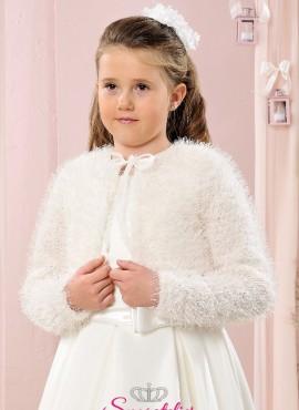 bolero da comunione in lana fine per bambina economico online