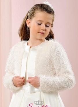 coprispalle bimba elegante in lana fine per cerimonia economico online