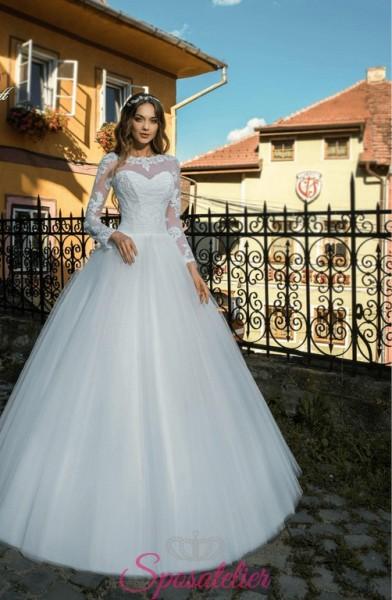 Abito da sposa per matrimonio in Chiesa economico online