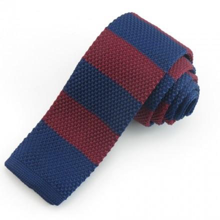 cravatta maglia bicolore
