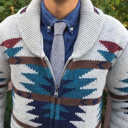cravatta cashmere