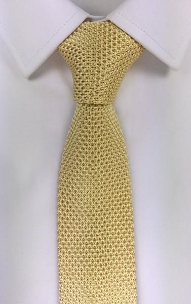 cravatta tricot gold