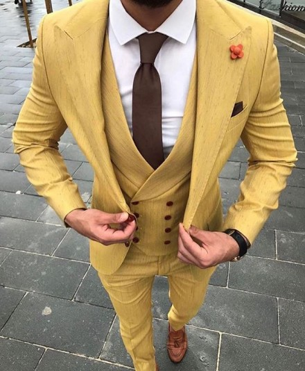 cravatta tinta unita marrone one size