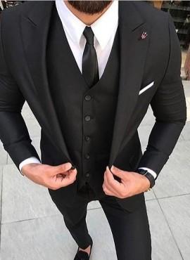 cravatta slim tinta unita