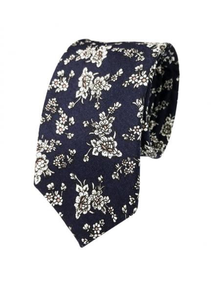 cravatta a fiori