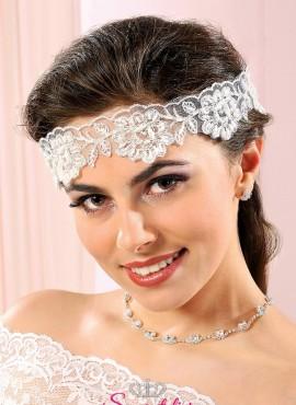 fascia per capelli sposa online in pizzo sito italiano