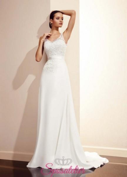 SMEIRA – abito da sposa semplice scontato