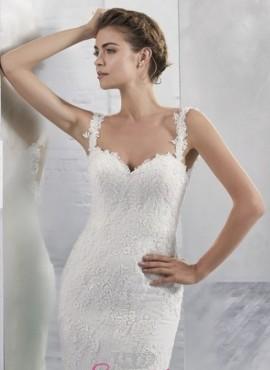 RANA – vestiti da sposa  sirena in pizzo con strasico economici online