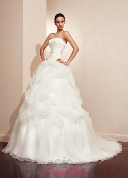 SANTINA – vestito da sposa pomposo economici online collezione