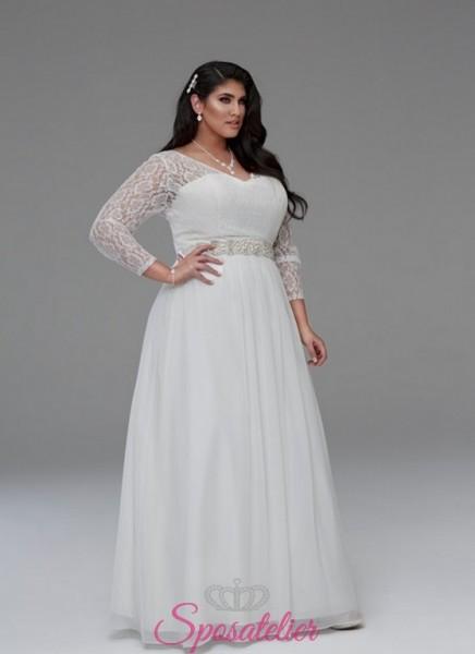 abiti per spose formose shop online collezione 2018 economici