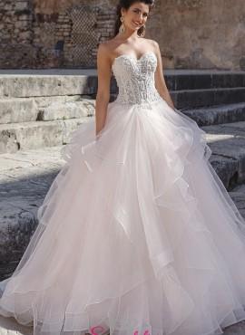 abito da sposa a palloncino stile principessa di tendenza 2018 2019 collezione online