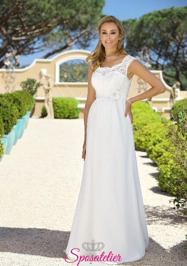 50667e5172b1 abiti da sposa premaman economici online collezione 2018 2019Sposatelier
