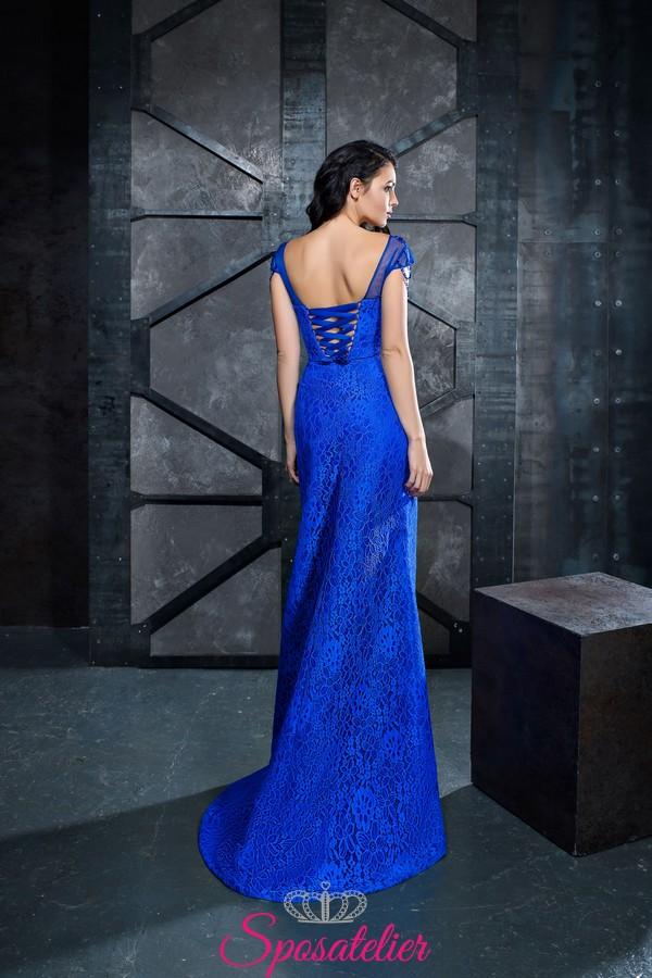 214a8249b533 abiti da cerimonia blu reale online economici realizzati su misura