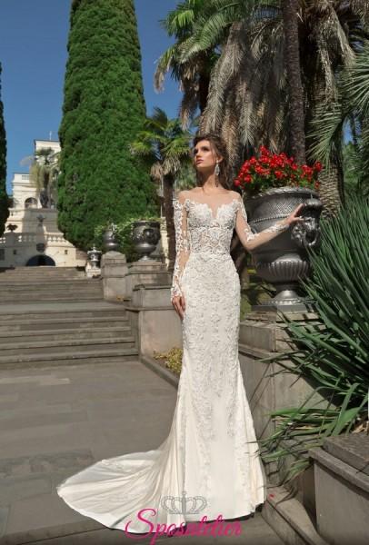 abiti da sposa a sirena in pizzo 2019 nuova collezione online