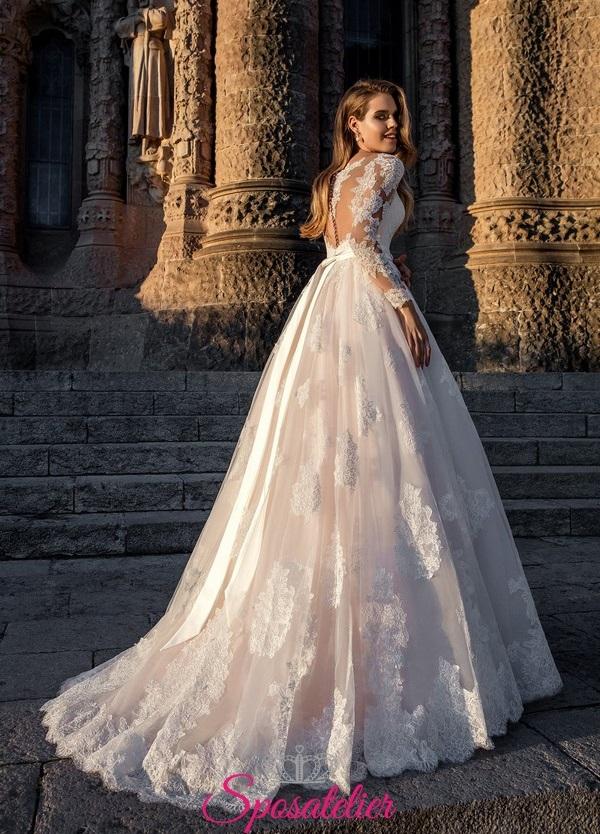 Vestiti Da Sposa Avorio.Abiti Da Sposa Colorati 2019 Avorio Rosa Da Principessasposatelier