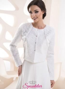 Giacca elegante sposa autunnale vendita online collezione 2019