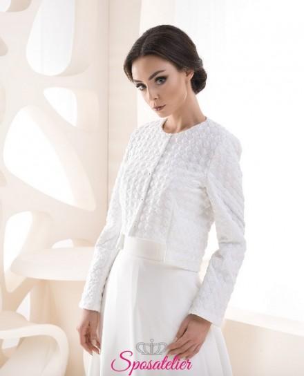 Giacca sposa elegante primavera vendita online collezione 2019