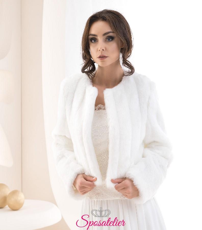 Il meglio del 2019 stili di moda stati Uniti Pelliccia sposa invernale elegante vendita online collezione 2019