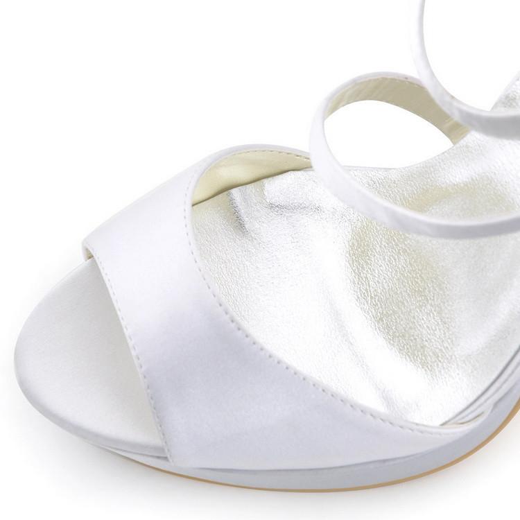 scarpe sposa 2018 online tacco 12 bianco avorio firmatesposatelier. Black Bedroom Furniture Sets. Home Design Ideas