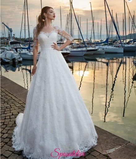abiti da sposa economici semplici in vendita online in pizzo