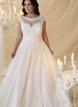 abiti da sposa taglie comode collezione 2019 online