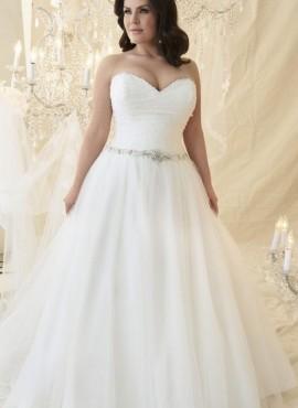 abiti da sposa taglie forti collezione 2019 online economici