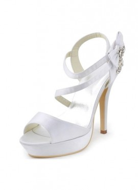 scarpe sposa 2018 online tacco 12 bianco avorio firmate
