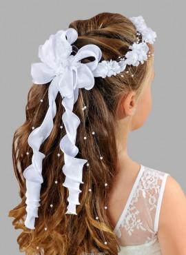 coroncine per capelli prima comunione vendita online con fiocco